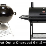 How to Put Out a Charcoal Grill?