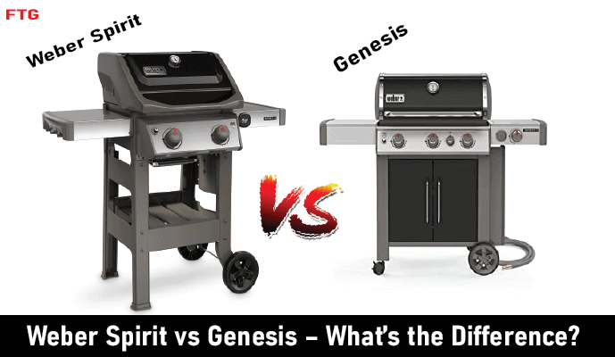Weber Spirit VS Genesis-