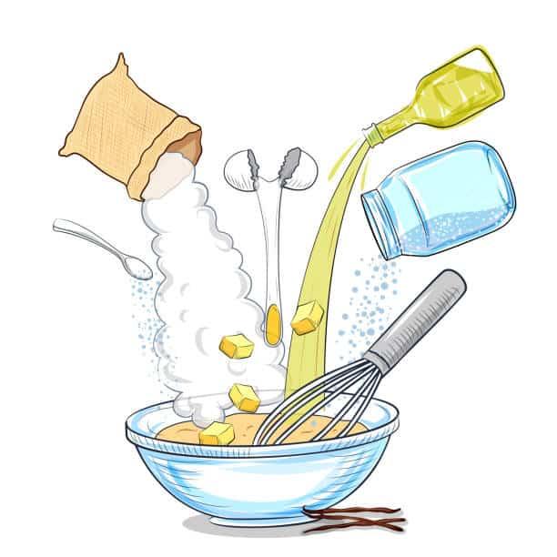 Mixing of Ingredients